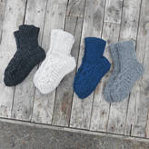 Aura Que Jana Wool Knitted Slipper House Socks