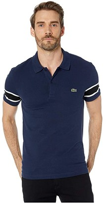 Lacoste Short Sleeve Stretch Pique Semi-Fancy Polo Slim