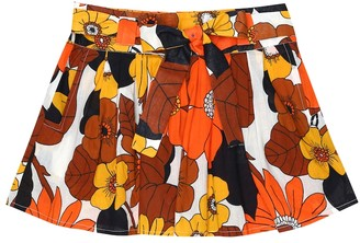 Dodo Bar Or Kids Floral cotton skirt