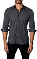 Jared Lang Multi Plaid Button-Down Sportshirt