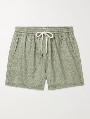 Atalaye Lehena Short-Length Printed Swim Shorts