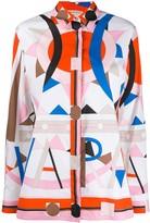 Emilio Pucci V-Vivara print shirt