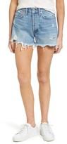 A Gold E Women's Agolde Parker Distressed Denim Shorts