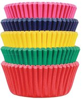 P.M.E. Carnival Paper Baking Cases for Cupcakes, Mini Size, Pack of 100