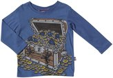 City Threads Treasure Chest Graphic Tee (Baby) - Smurf-3-6 Months