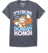 Fifth Sun Heather Charcoal 'It's On' Donkey Kong Tee - Men's Regular