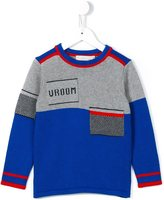 Stella McCartney 'Champ' biker jumper