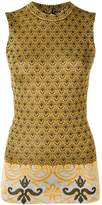 Paco Rabanne Sleeveless Knitted Top