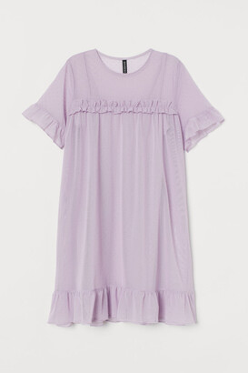 H&M Mesh Dress - Purple