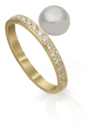 Keshee Pearl Midi Ring