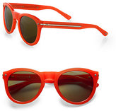 Rag and Bone Rag & Bone The Keaton Coral Round Sunglasses