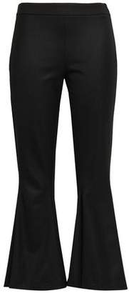 Marco De Vincenzo Wool-blend Twill Kick-flare Pants