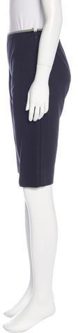 Prada Mid-Rise Knee-Length Shorts