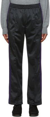 Needles Black Smooth Track Pants