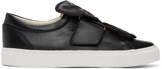 Sophia Webster Black Butterfly Sneakers
