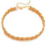 Kenneth Jay Lane Interwoven Choker Necklace