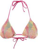 Cecilia Prado knit triangle bikini top