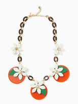 Kate Spade Citrus crush statement necklace