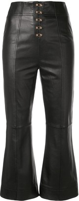 Alice McCall Sweet Street leather trousers