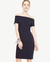 Ann Taylor Off The Shoulder Sheath Dress