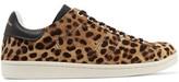 Etoile Isabel Marant Bart Leopard-Print Calf Hair Sneakers