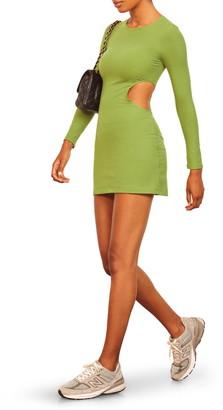 Reformation Kensy Long Sleeve Minidress