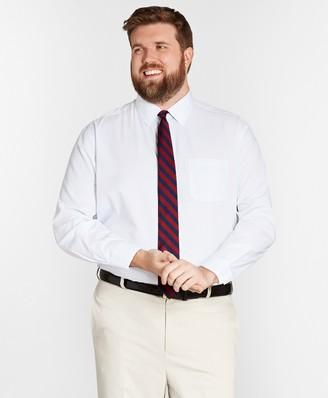 Brooks Brothers Big & Tall Dress Shirt, Non-Iron Graph Check