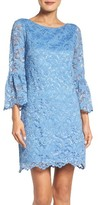 Eliza J Women's Bell Sleeve Lace Dress