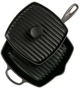 Le Creuset Signature Grill Pan with Panini Press, 10.25""