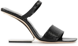 Cult Gaia Rene cut-out heel sandals