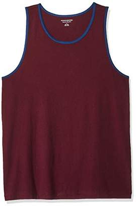 Amazon Essentials Regular-fit Ringer Tank Top T-Shirt,(EU L)