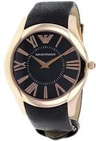 Emporio Armani Men's Dial Leather