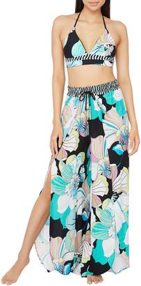 Trina Turk Sintra Floral Split-Leg Beach Pants