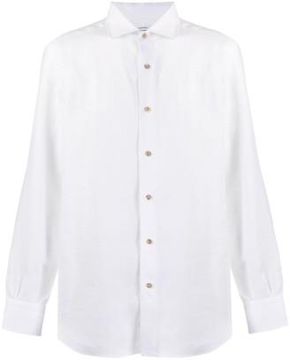 Mazzarelli French collar regular fit shirt