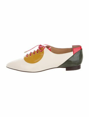Charlotte Olympia Leather Oxfords w/ Tags Blue