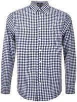 Gant Regular Tech Prep Plaid Shirt Blue