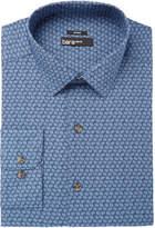 Bar III Men's Slim-Fit Stretch Easy-Care Blue Dot Print Dress Shirt, Created for Macy's