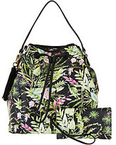 Dena Drawstring Backpack with Phone Sleeve