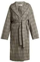 Zimmermann Rife checked wool trench coat