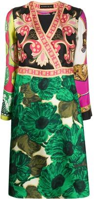 Etro Mixed Print Dress