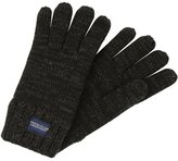 Superdry Gloves Charcoal Twist