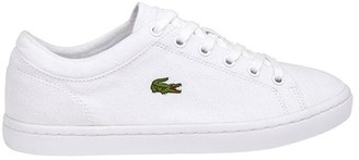 Lacoste Straight Canvas Trainers