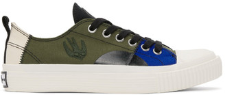 McQ Multicolor Swallow Orbyt Low Sneakers