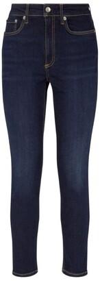 Rag & Bone Nina High-Rise Ankle Skinny Jean