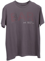 Tailgate Taligate Clothing Co. Speakeasy by Neon BAR Bar Tee in Flannel Grey