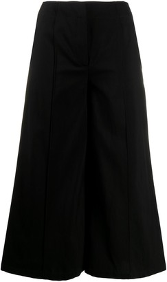 Moschino High-Rise Wide-Leg Culottes