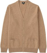 Uniqlo Men's Lambswool V-Neck Cardigan