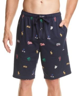 Polo Ralph Lauren Men's Knit Pajama Shorts