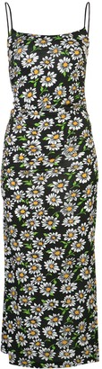 M Missoni Floral Print Slip Dress