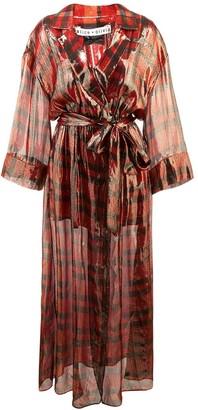 Alice + Olivia Chap wrap dress